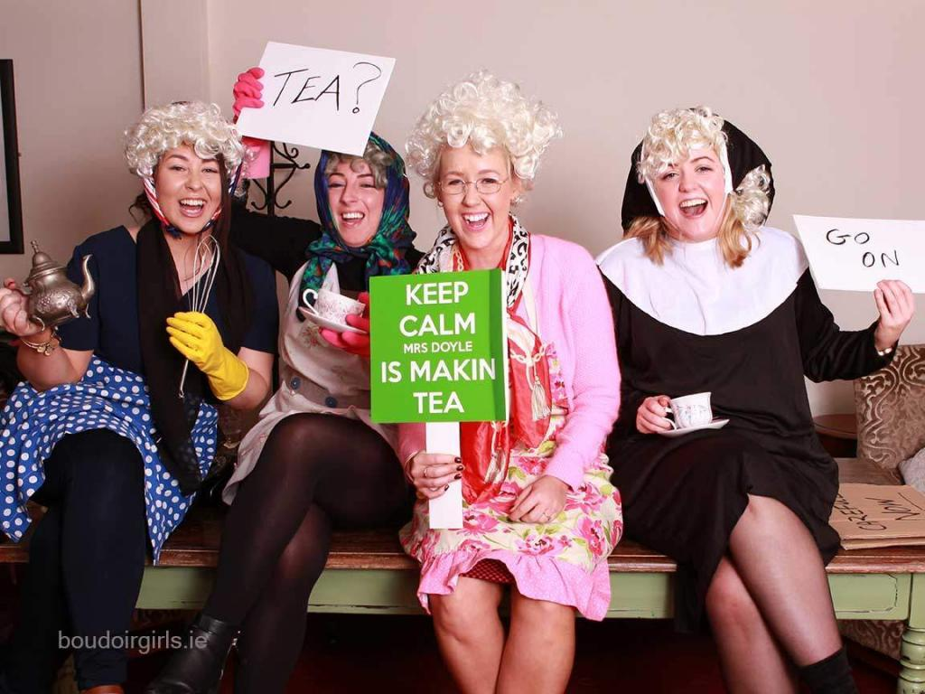 Father Ted Hen party! - Boudoir Girls