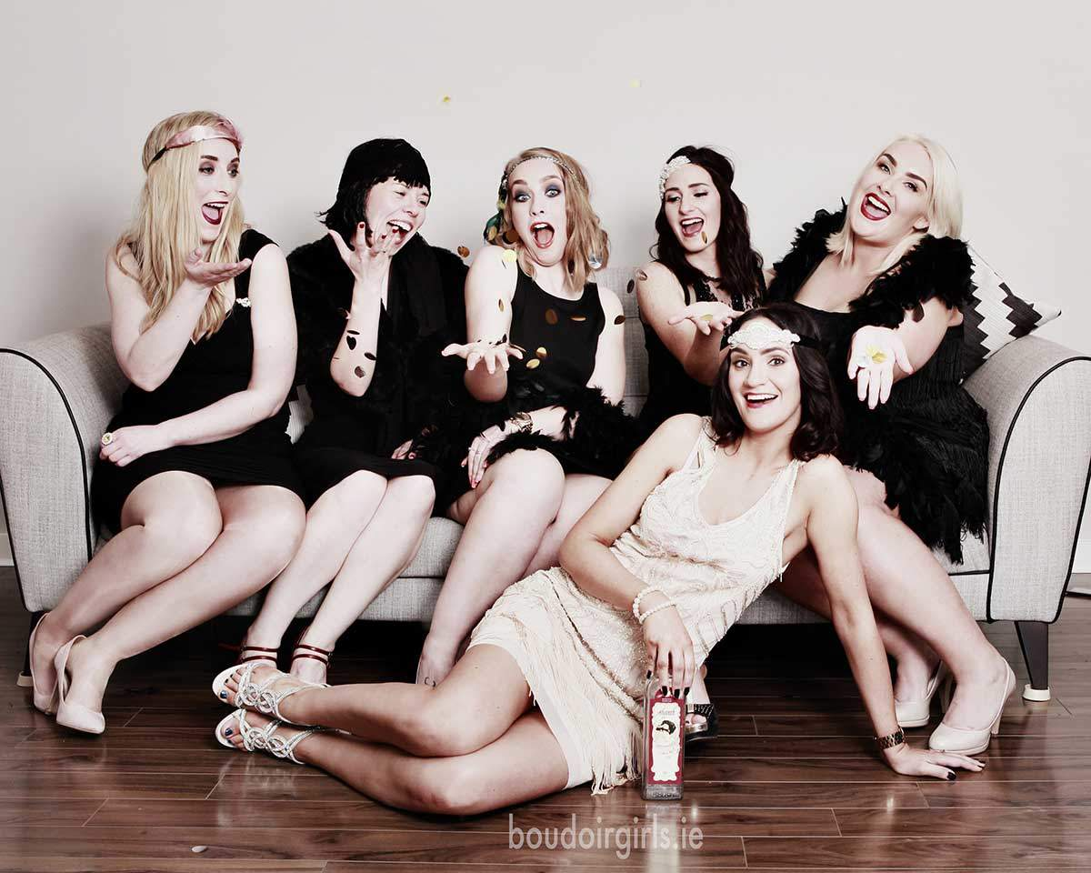 boudoir girls gatsby