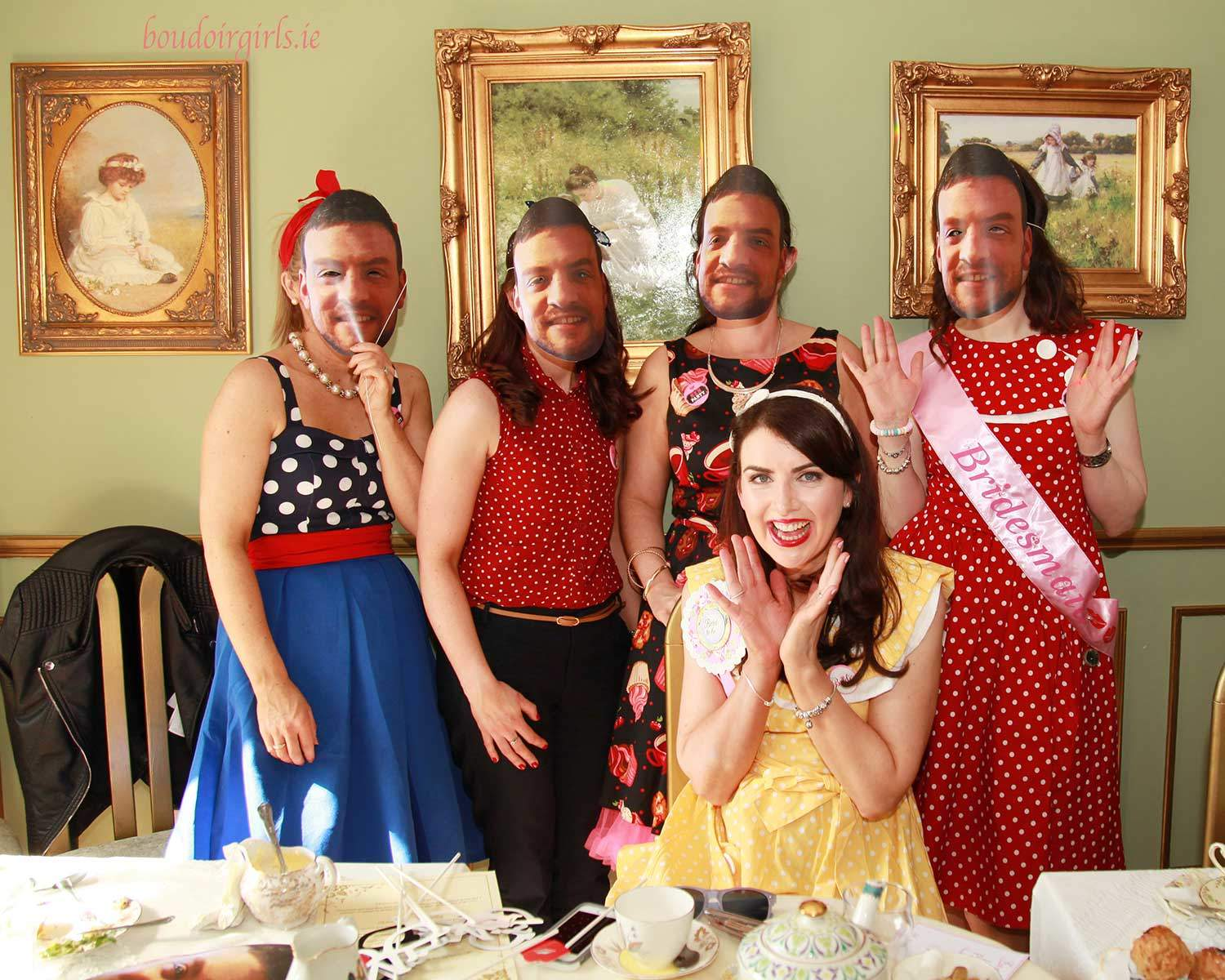 Tanya's Vintage Hen Party in Galway