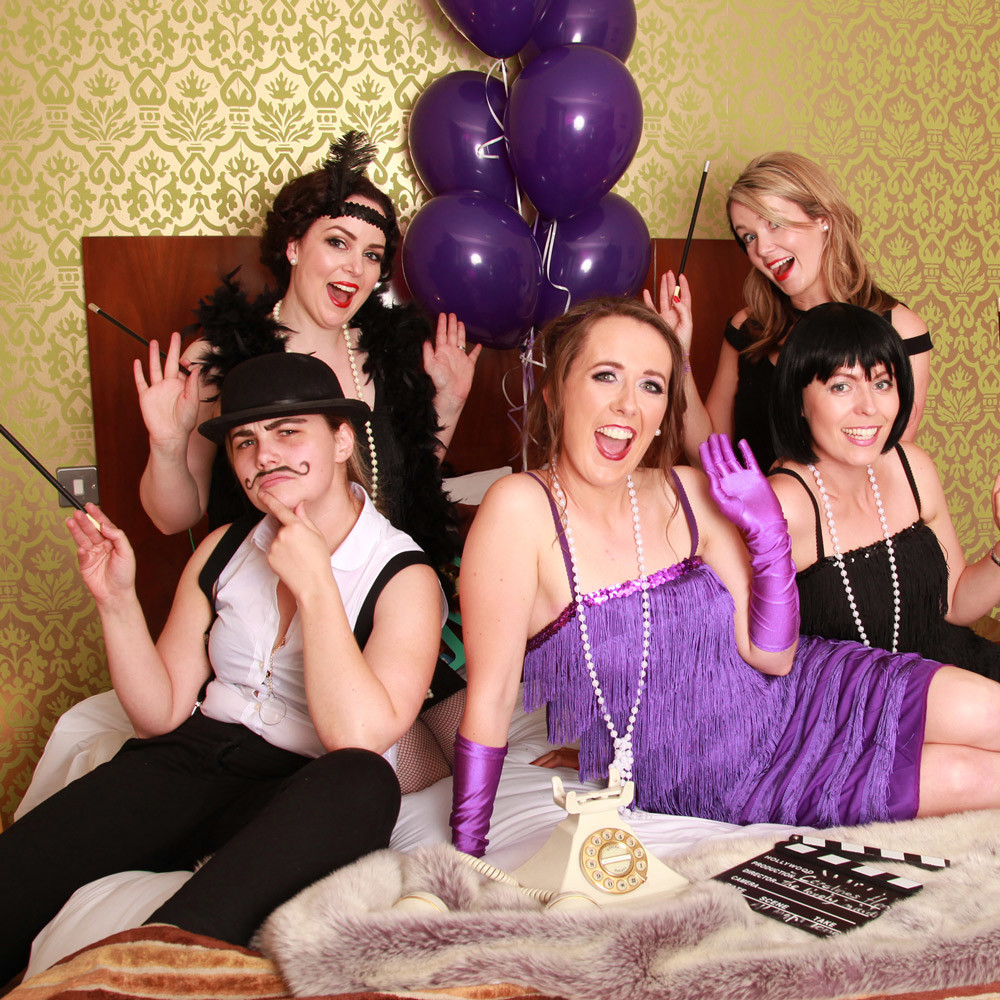 Gatsby hen party Boudoir girls