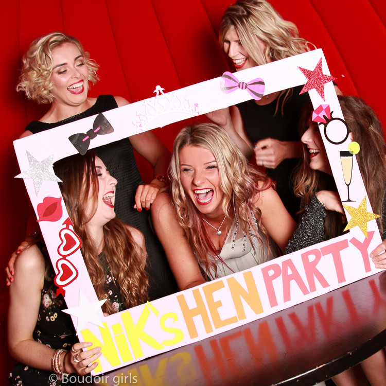 hen party ideas boudoir girls