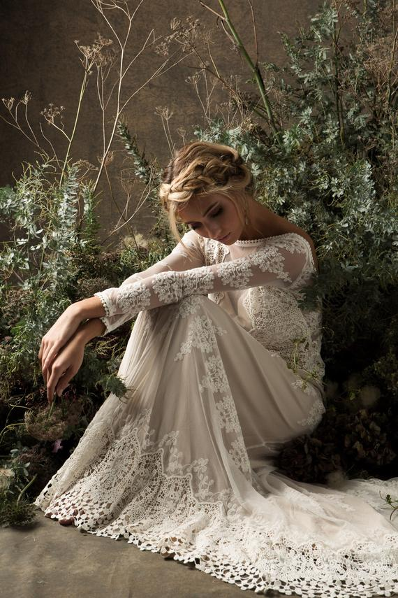 Dreamers and Lovers etsy boho style wedding dress